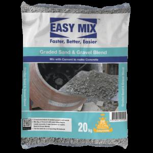 Easy Mix Graded Sand | Gravel Blend | Concrete Mix Sand